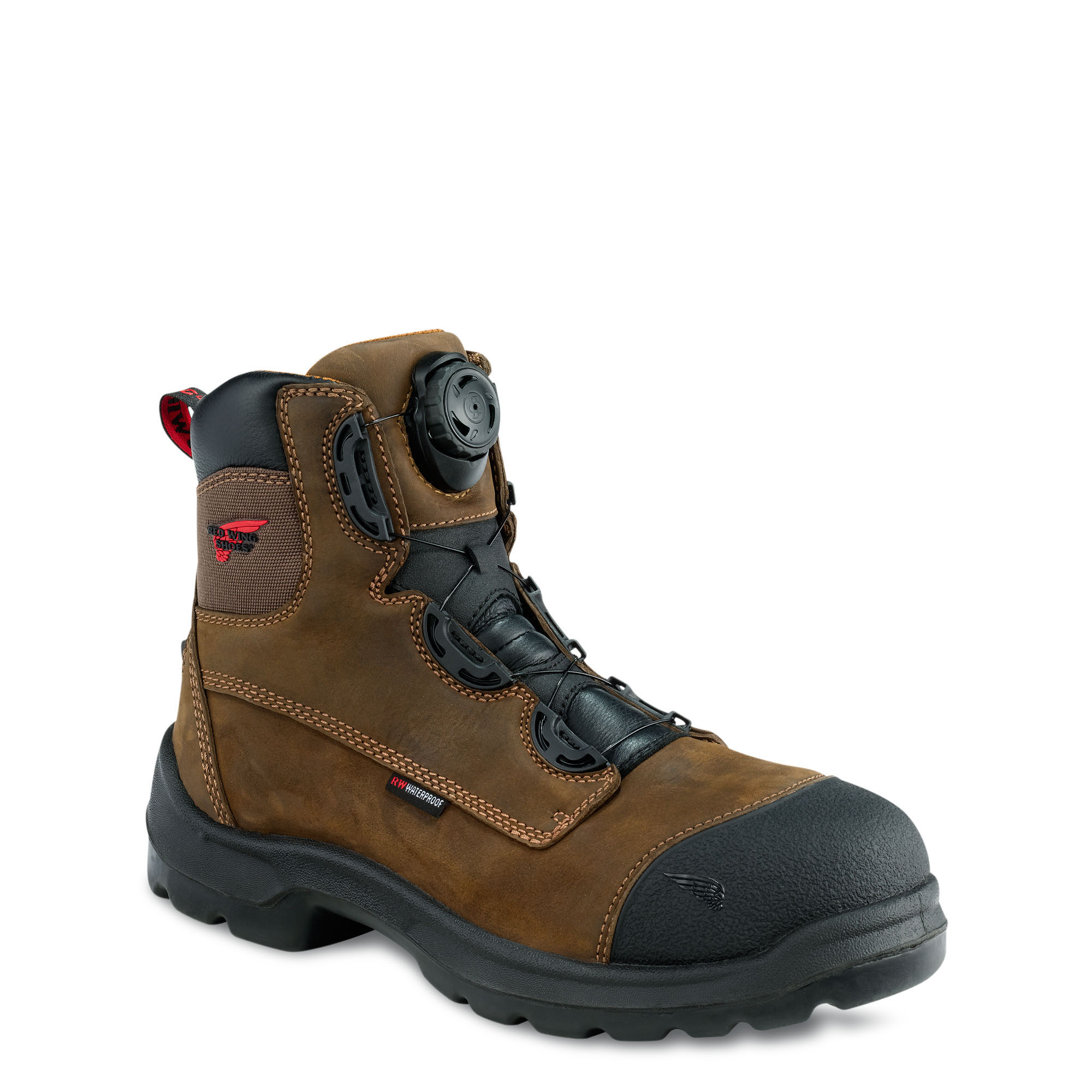 Red Wing 3267 Mens 6 Inch Brown Waterproof Safety Work