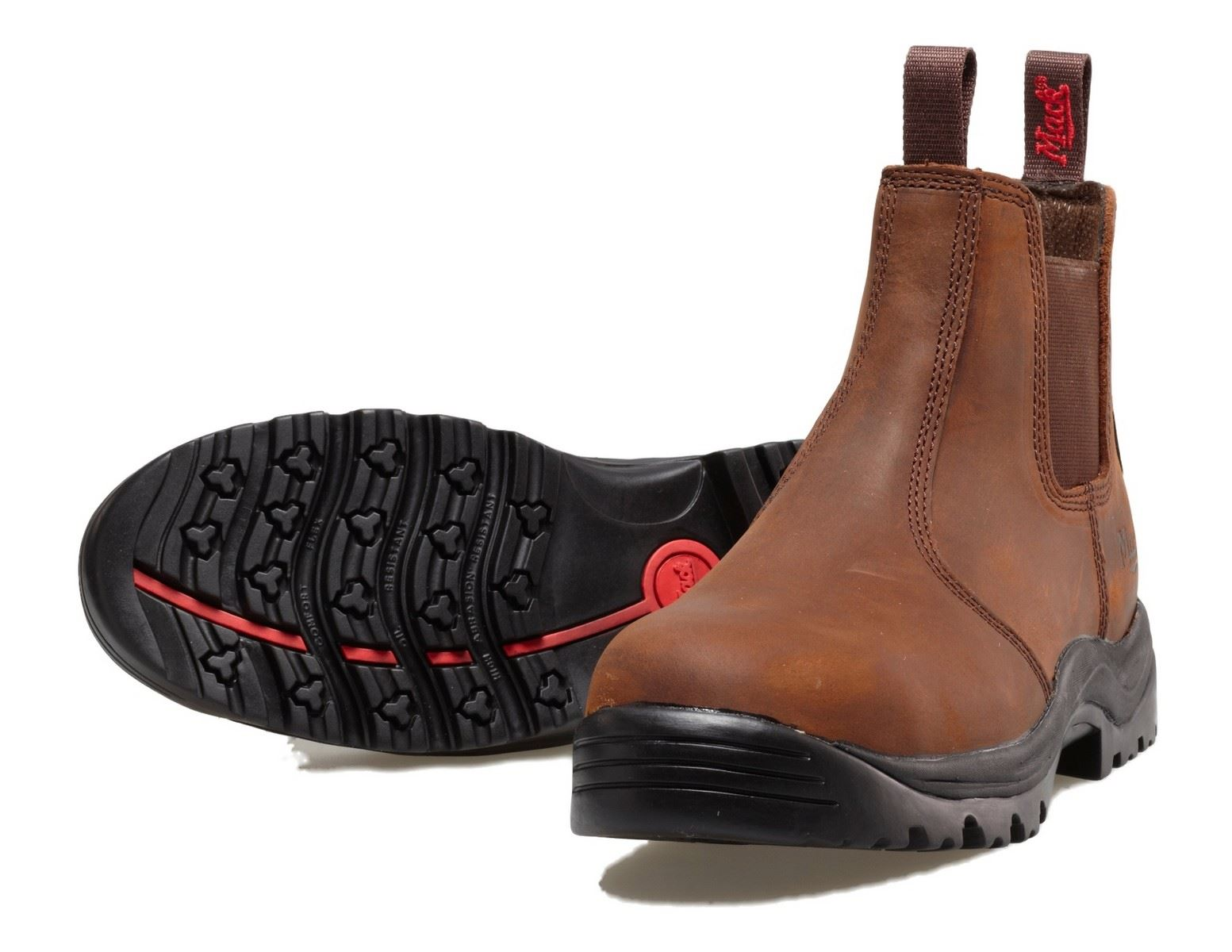 Mack Rider Safety Slip New Dealer Work Safety Boots Rocky Chelsea ...