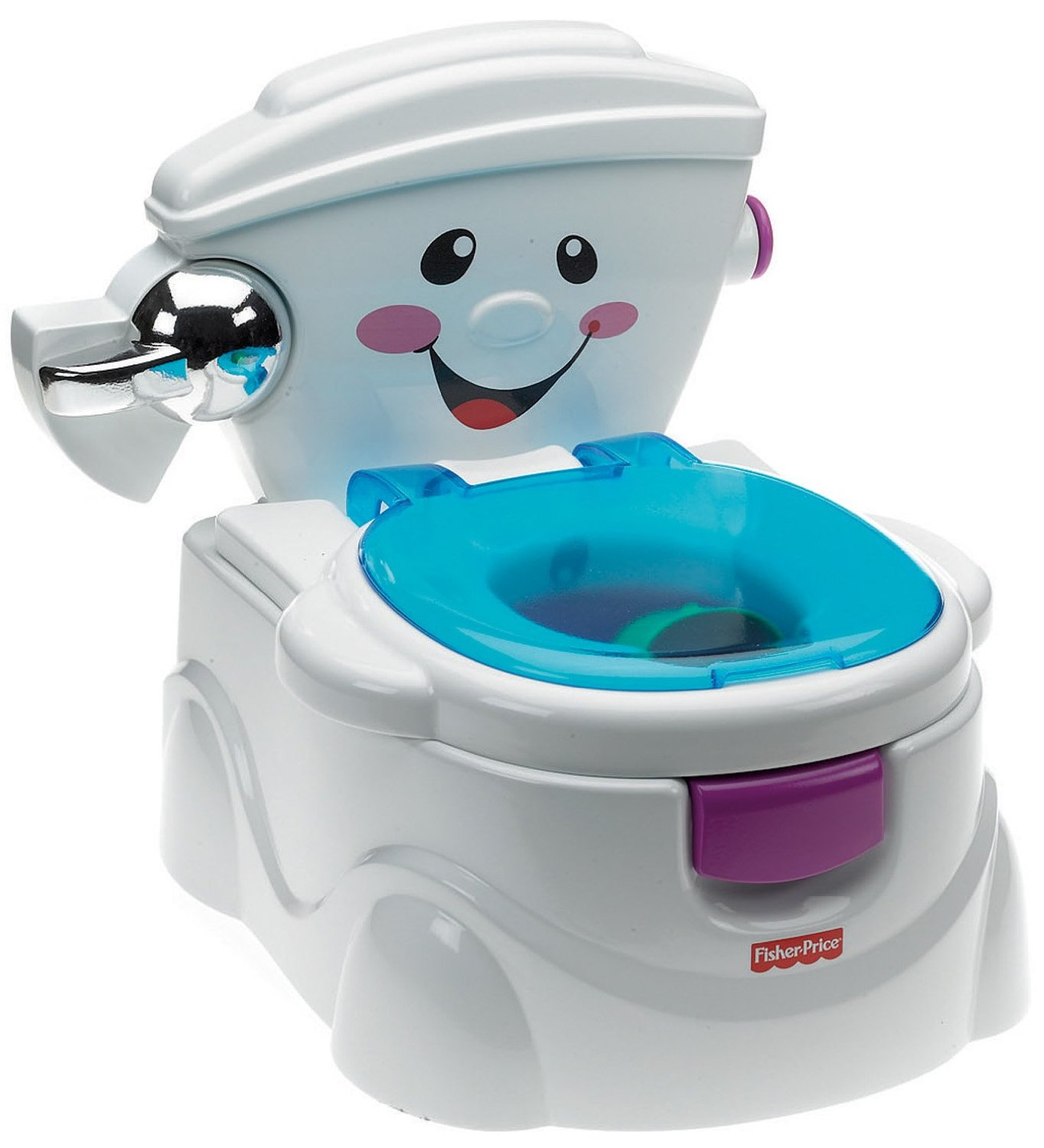 Toy Toilet Flushing Sound : Fisher price my talking potty friend musical learning