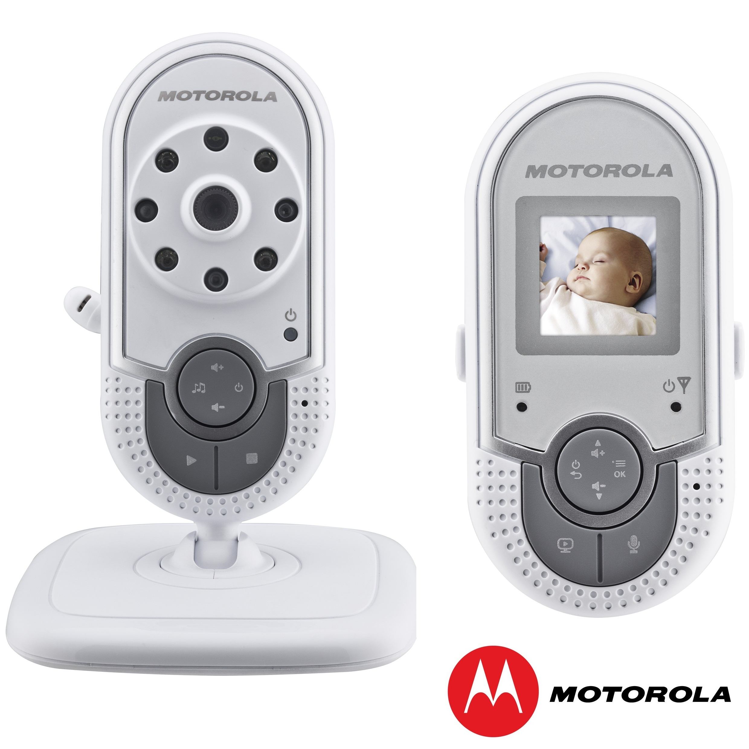 motorola mbp20 digital video sound rechargeable baby monitor 1 5 lcd screen ebay. Black Bedroom Furniture Sets. Home Design Ideas