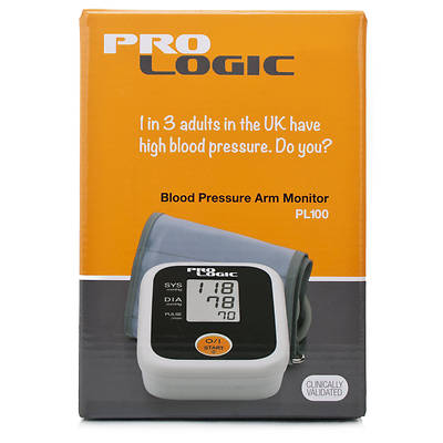 Omron Pro Logic Fully Automatic Arm Blood Pressure Monitor ProLogic PL100 M2 New