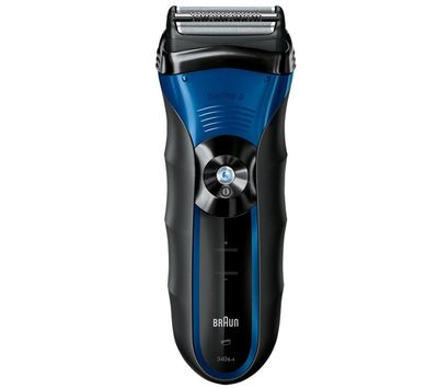 Braun Series 3 340s-4 340-4 Mens Rechargeable Wet Dry Foil Electric Face Shaver