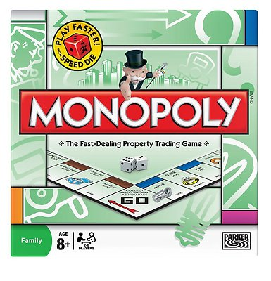 MONOPOLY Classic world famous property trading board game [Brand New & Sealed]