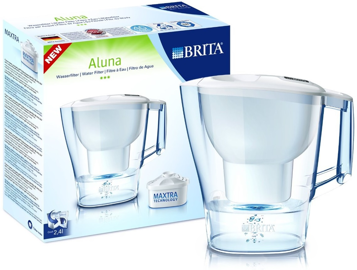 brita aluna cool frosted water filter jug with maxtra. Black Bedroom Furniture Sets. Home Design Ideas