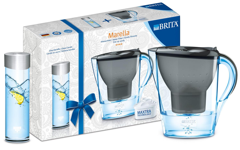 brita marella gift pack cool graphite water filter jug. Black Bedroom Furniture Sets. Home Design Ideas