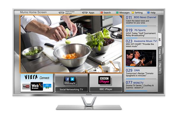 Panasonic Viera TX-L47FT60B 47 inch 3D LED Smart TV 1080p Freeview HD freesat HD