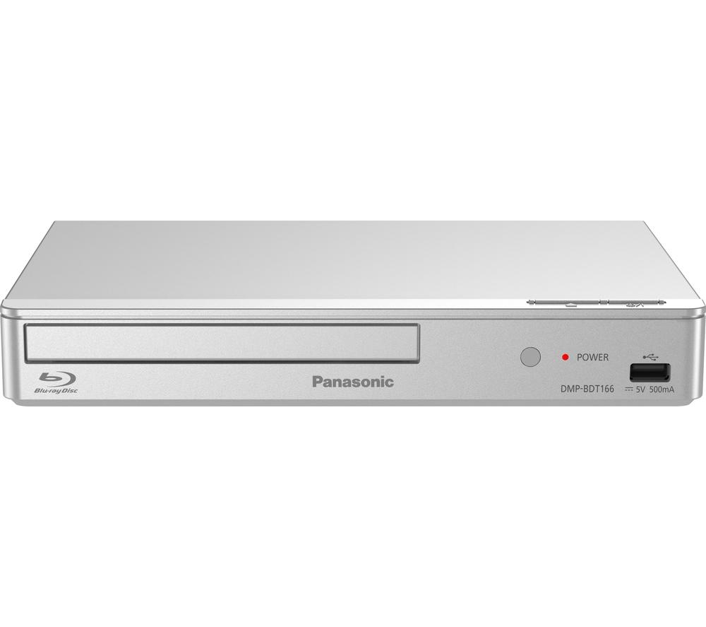 panasonic dmp bdt166eb s smart 3d blu ray dvd player 1080p upscaling silver ebay. Black Bedroom Furniture Sets. Home Design Ideas