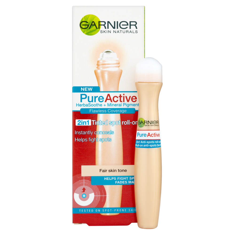New Garnier Pure Active 2in1 Tinted Spot Roll On Concealer