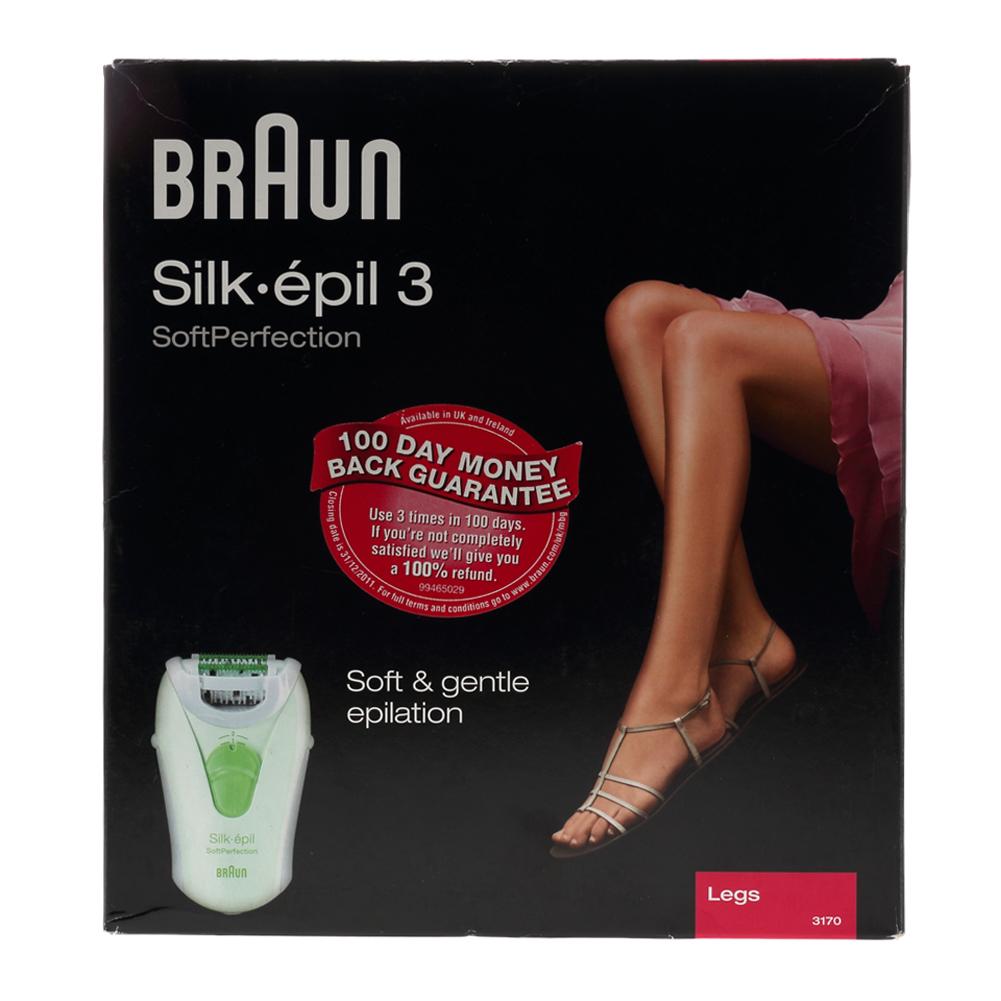new braun silk epil 3 soft perfection massaging rollers. Black Bedroom Furniture Sets. Home Design Ideas