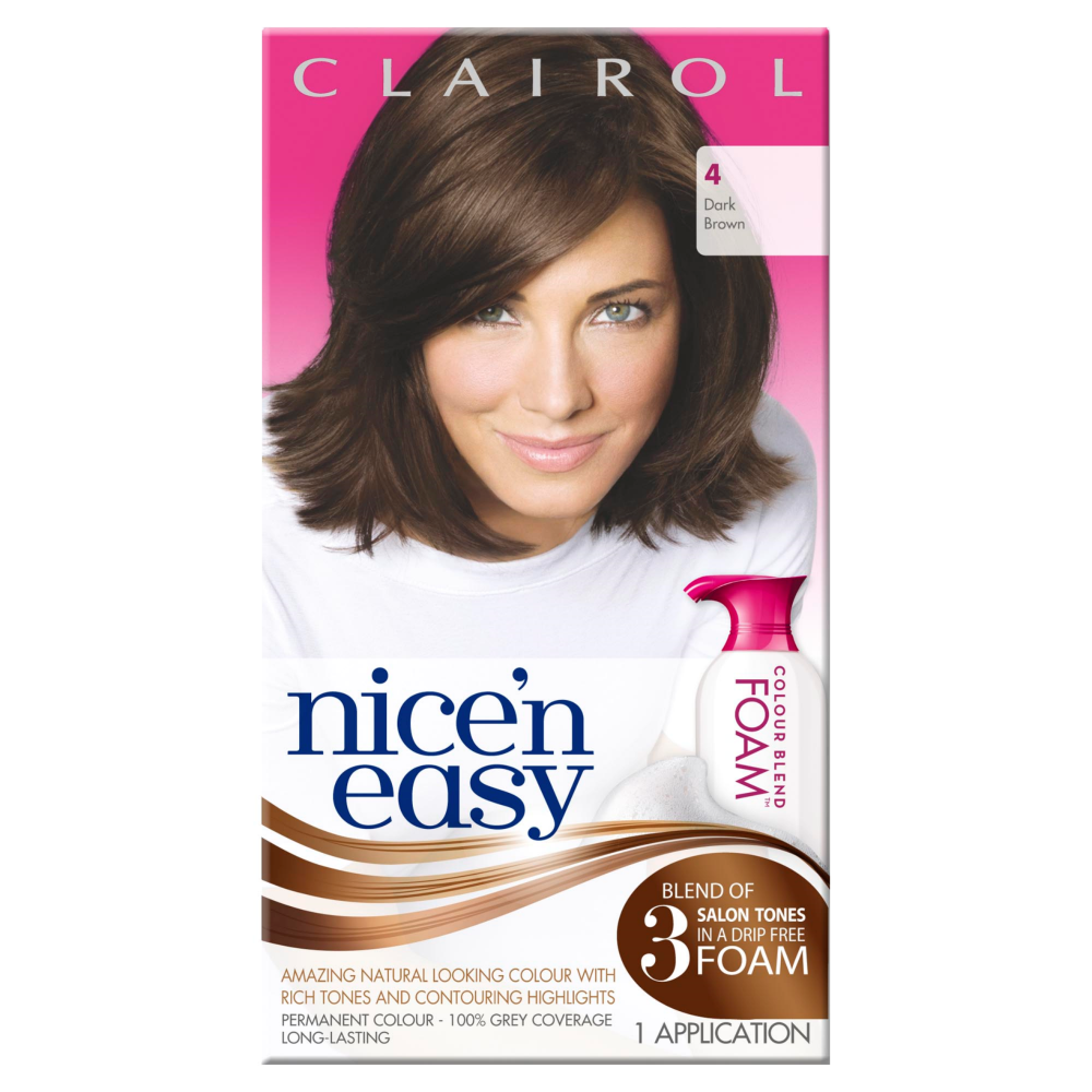 Clairol Nice N Easy Womens Colour Blend Foam Permanent
