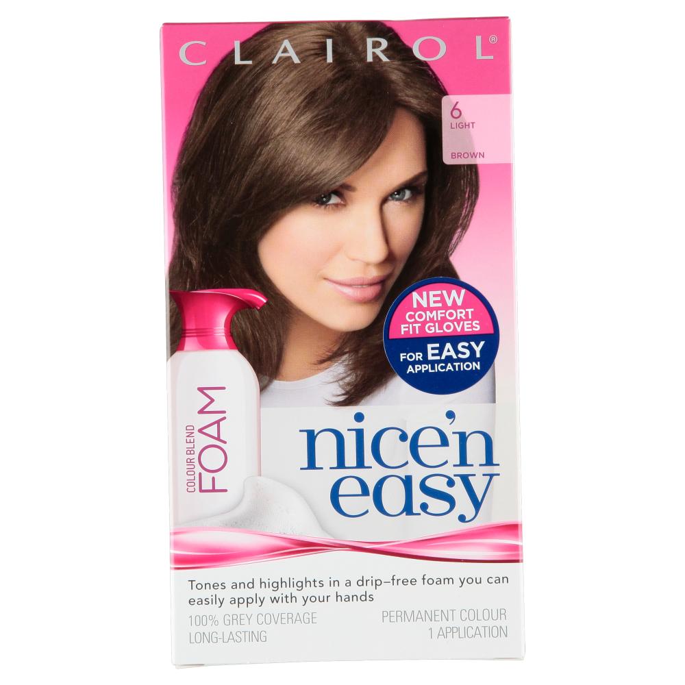 Clairol Nice N Easy Womens Colour Blend Foam Permanent