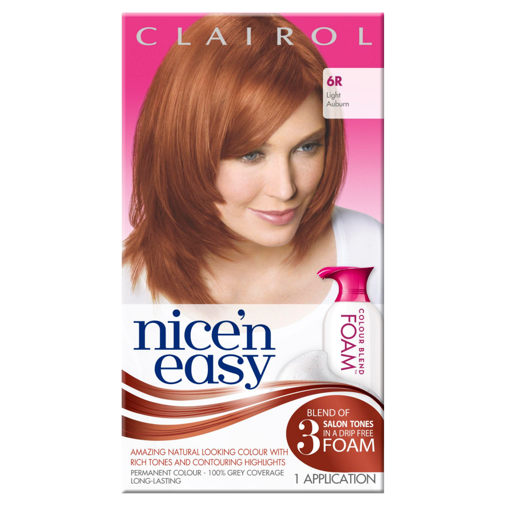 clairol nice n easy womens colour blend foam permanent. Black Bedroom Furniture Sets. Home Design Ideas