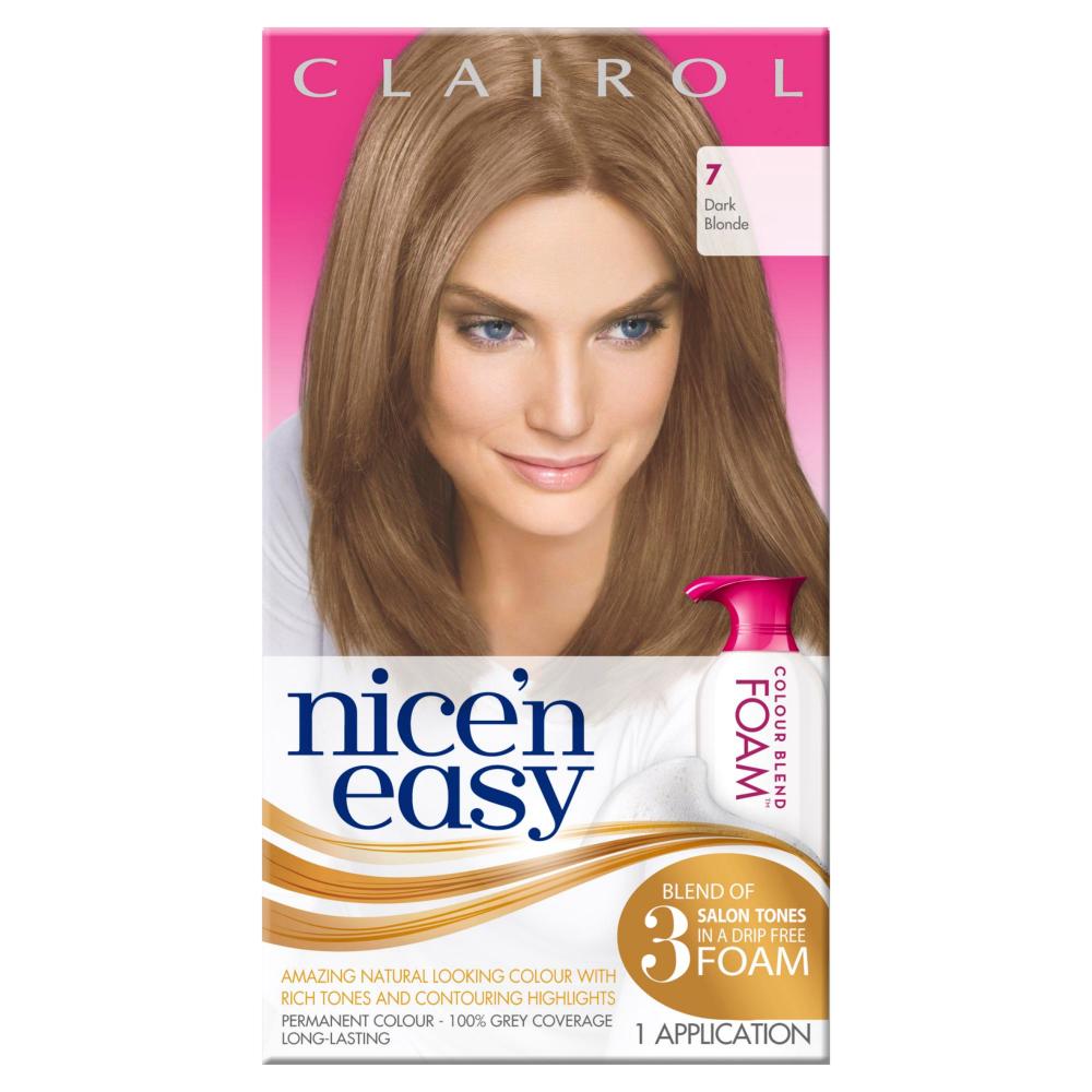 Womens Clairol Nice N Easy Permanent Colour Blend Foam