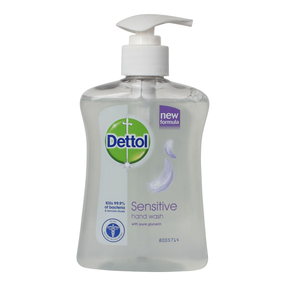 New Dettol Sensitive Pure Glycerin Anti Bacterial Hand