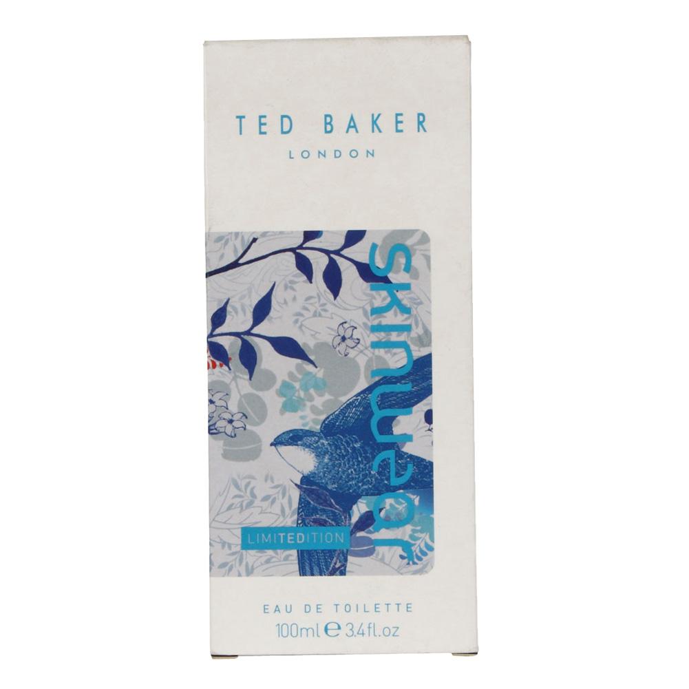 NEW MENS TED BAKER SKINWEAR EDT MASCULINE SCENT EAU DE TOILETTE SPRAY 100 ML