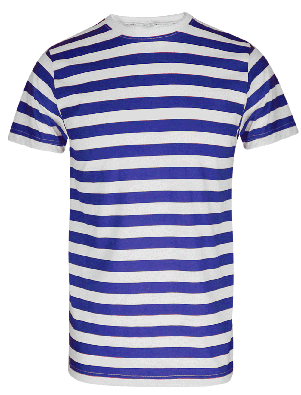 Men 39 s boys red and white striped t shirt top blue black for Red blue striped shirt