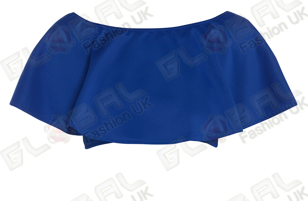 new womens ruffle shoulder croptop pencil skirt