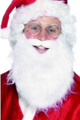 MENS-SANTA-CLAUS-GLASSES-FATHER-CHRISTMAS-WHITE-BEARD-FANCY-DRESS-COSTUME-OUTFIT