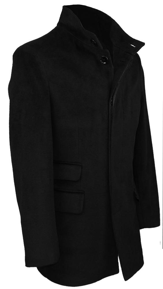 herren stylisch wolle mantel lang trenchcoat warme winterjacke s m l xl 2xl 3xl ebay. Black Bedroom Furniture Sets. Home Design Ideas