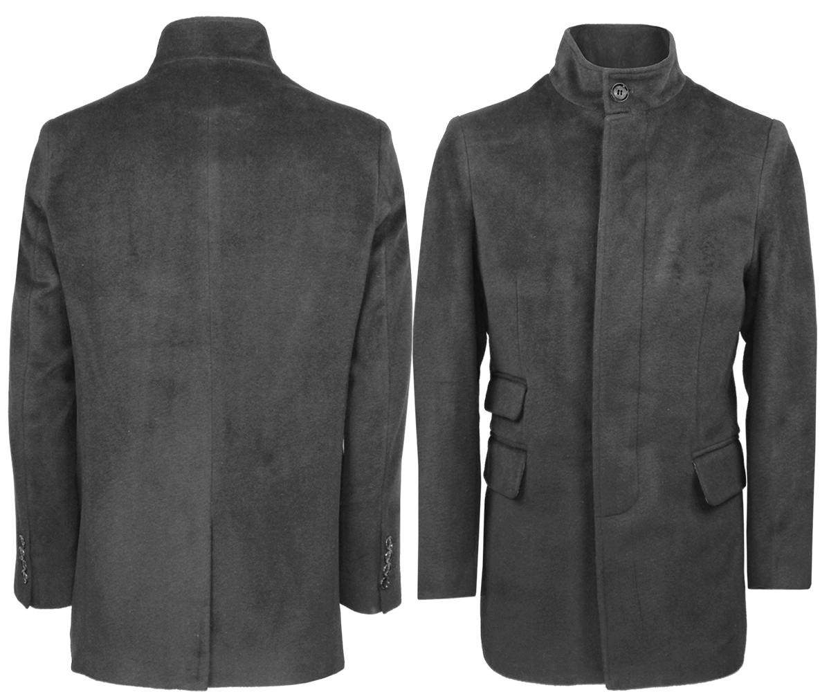 herren stylisch wolle mantel lang trenchcoat warme winterjacke s m l xl 2xl 3xl ebay. Black Bedroom Furniture Sets. Home Design Ideas