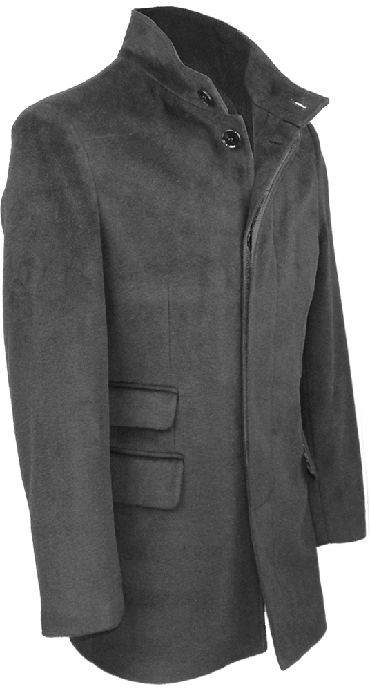 herren stylisch wolle mantel lang trenchcoat warme. Black Bedroom Furniture Sets. Home Design Ideas