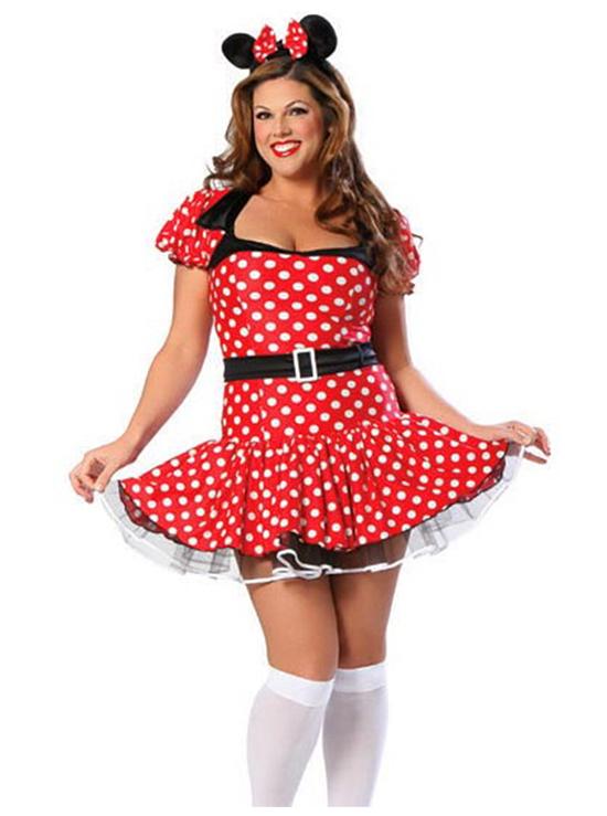 Minnie Mouse Plus Size Costumes - Meningrey