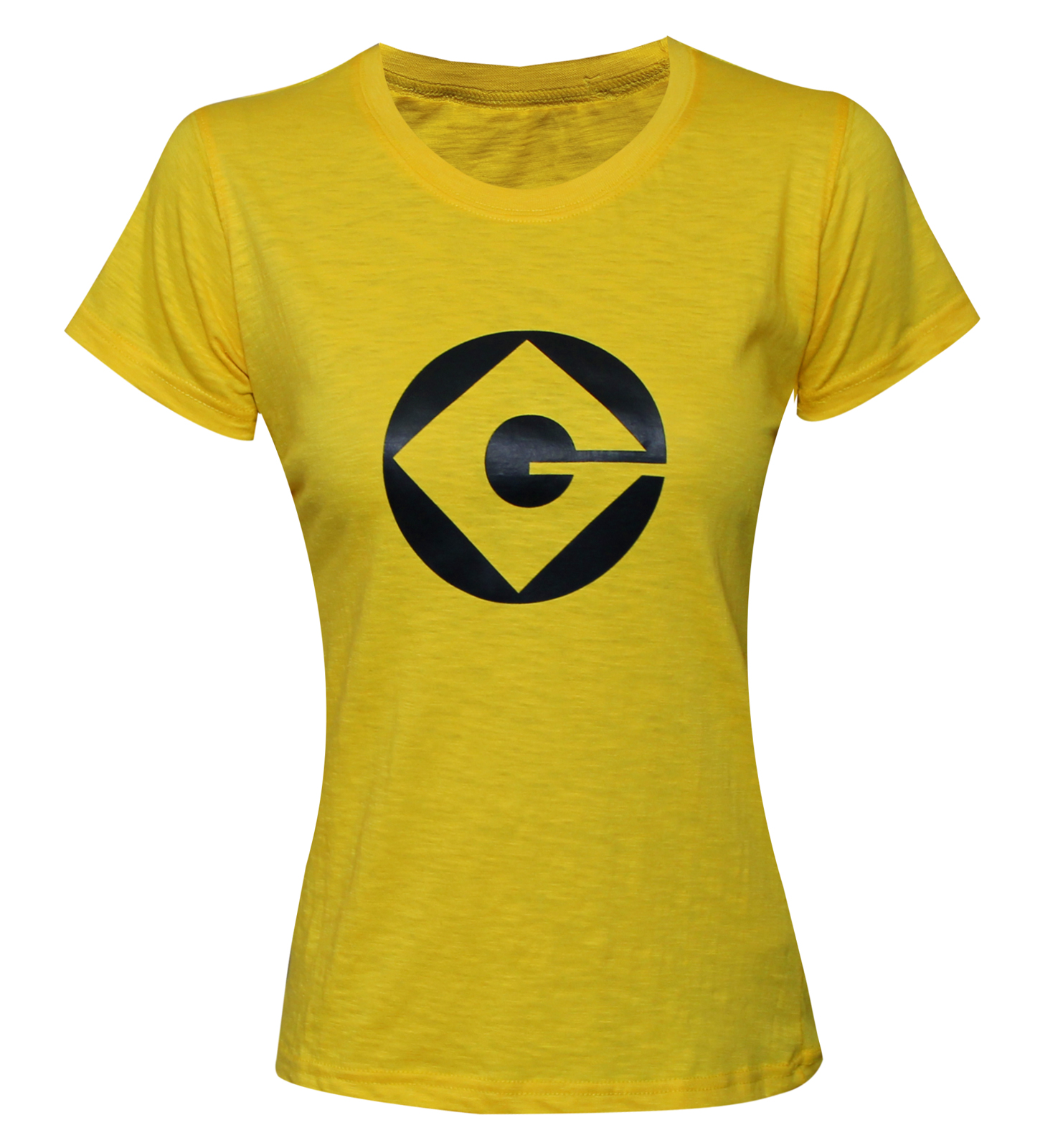 Minion T Shirt Ladies Womens Adult Yellow Despicable Me 2