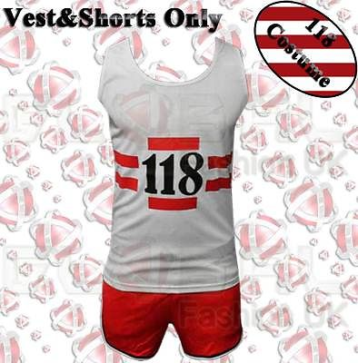 MENS-WOMEN-CHILDRENS-118-118-MARATHON-RETRO-FANCY-PARTY-DRESS-COSTUME-OUTFIT