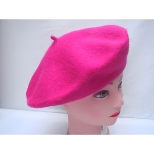 NEW-WOMENS-MENS-LADIES-BERET-BEANIE-FRENCH-STYLE-HAT-WOOL-SKICAP-FANCY-DRESS