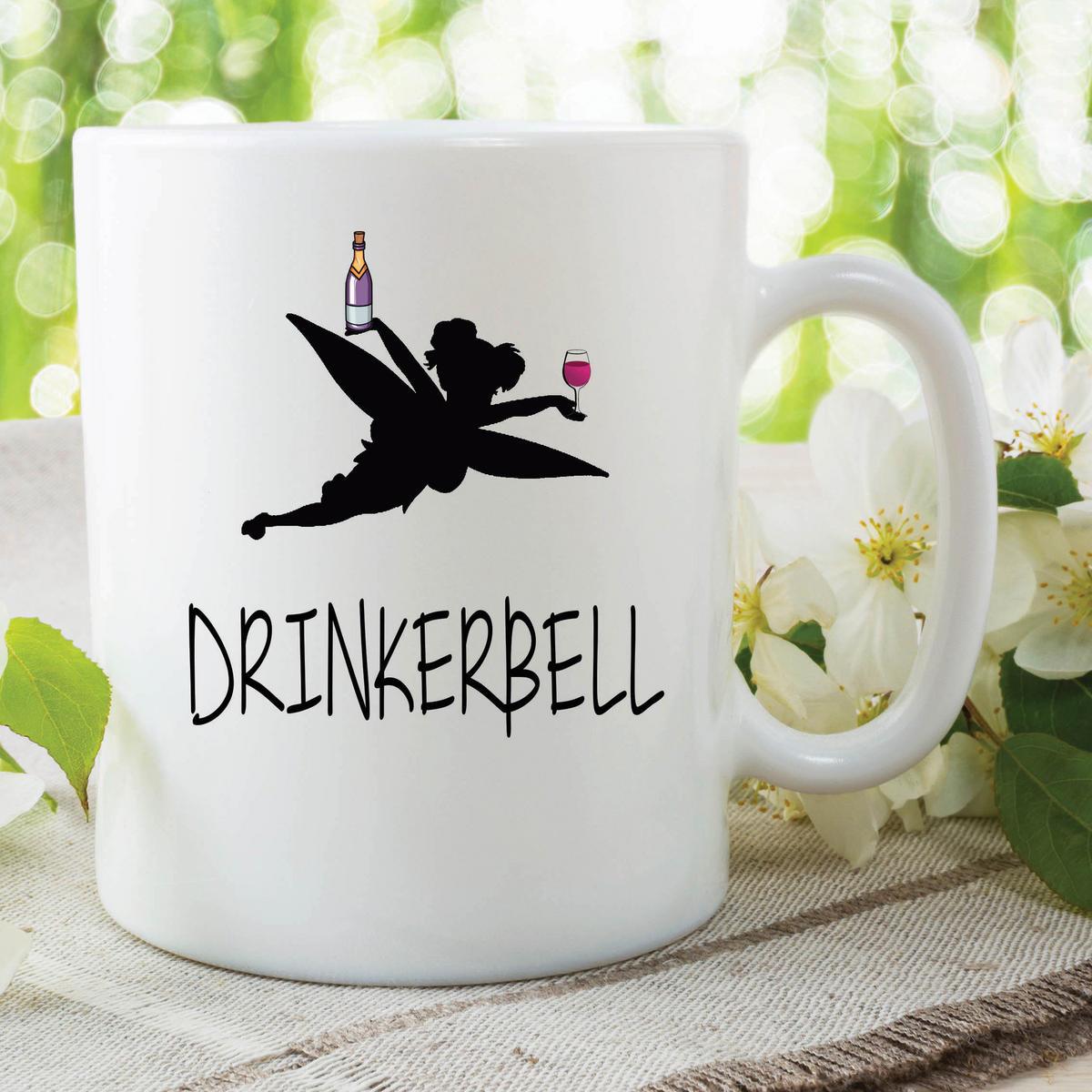 Funny Novelty Mugs Drinkerbell Valentines Gift Girlfriend Best Friend WSDMUG603