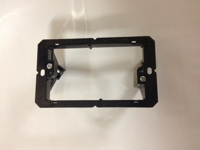 US USA Double Twin Gang J Box Style In Wall Mounting Bracket For Cable Plates