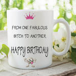 Adult Humour Funny Novelty Mug Fab Friends Bitch Quote Cup Work Gift WSDMUG213