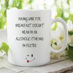 Adult Humour Mug Alcohol Wine Joke Funny Novelty Cup Birthday Gift WSDMUG130