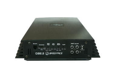 Bassface DB2.2 3200w 2/1 Channel Bridgeable High Power Stereo SQ Car Amplifier Thumbnail 3