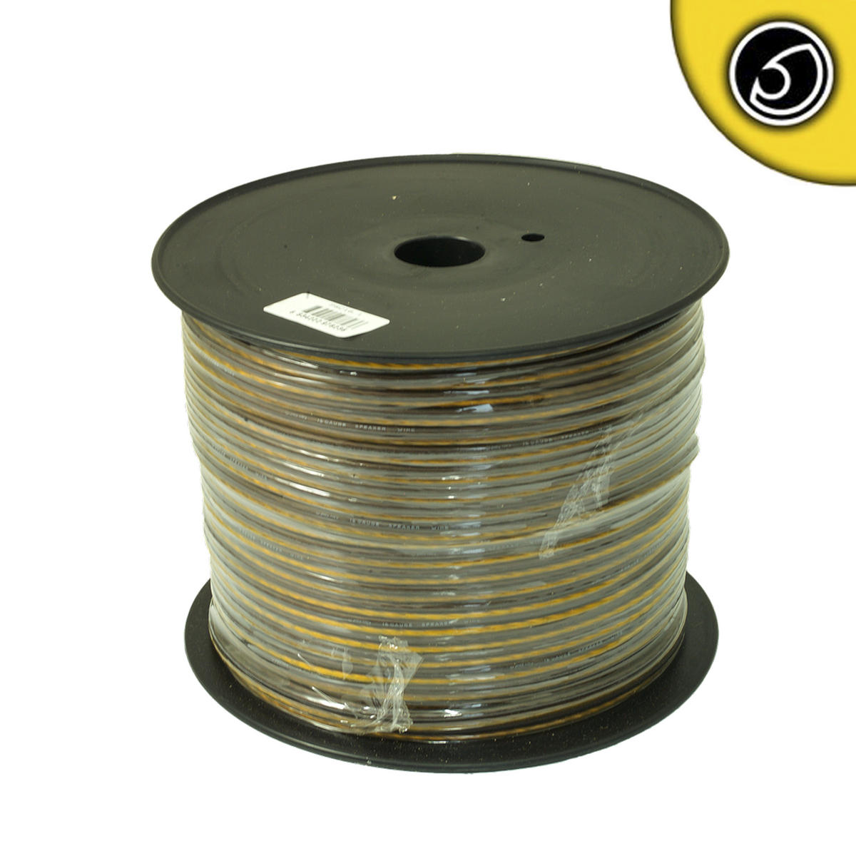Bassface PSC16.1 150m Roll 16AWG 1.5mm 15% CCA Speaker Cable 112 Strand