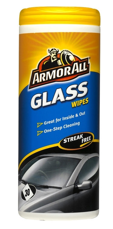 Armorall CLO37030EN Car Detailing Exterior Glass Cleaning Wipes Single