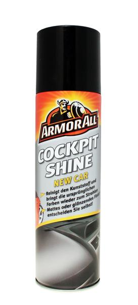 Armorall CLO83500ML Car Cleaning Interior Cockpit New Car Shine Wipes Single Thumbnail 1