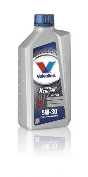 Valvoline 841958 Synpower Xtreme Mst C4 Sae 5W-30 1 Litre Thumbnail 1