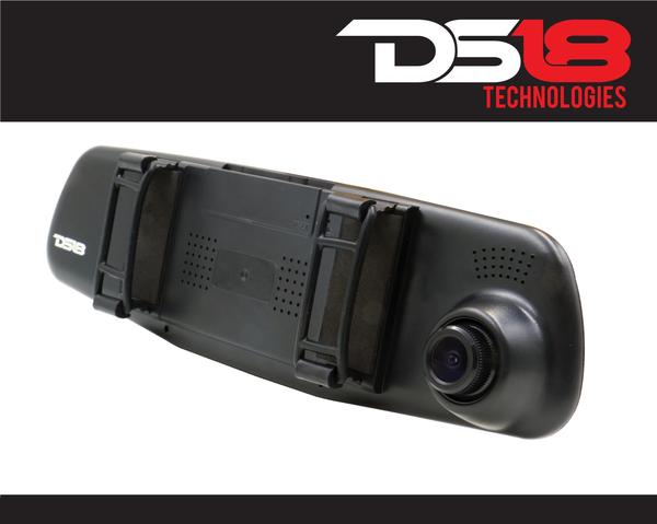 "DS18 EAGLEBT Rearview Mirror 4.3"" LCD Display 1080P Dash Cam Recorder and Camera Thumbnail 3"