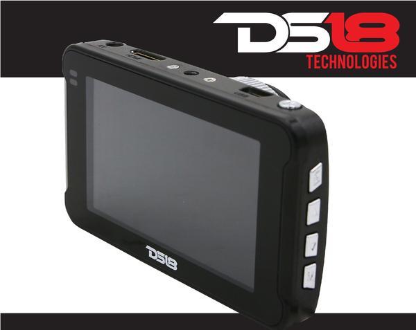 "DS18 BLACKBOX Dash Camera 3"" LCD 1080P Wide Angle Dash Cam Recorder with G-Sensor Thumbnail 2"