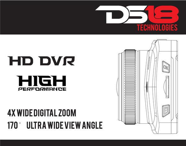 "DS18 BLACKBOX Dash Camera 3"" LCD 1080P Wide Angle Dash Cam Recorder with G-Sensor Thumbnail 4"