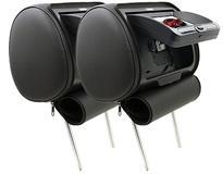 """DS18 HPKG72DVD Car Audio Twin 7"""" AV DVD Black Grey Beige Headrest LCD Screen"""