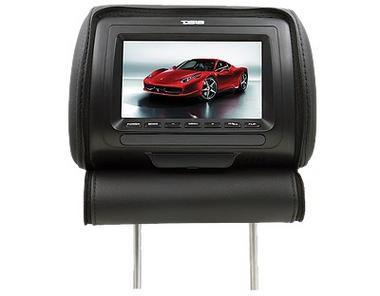 "DS18 HPKG-9TBG Car Audio 9"" AV Black Grey Beige Headrest LCD Screen Thumbnail 4"