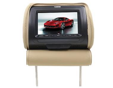 "DS18 HPKG-9TBG Car Audio 9"" AV Black Grey Beige Headrest LCD Screen Thumbnail 6"