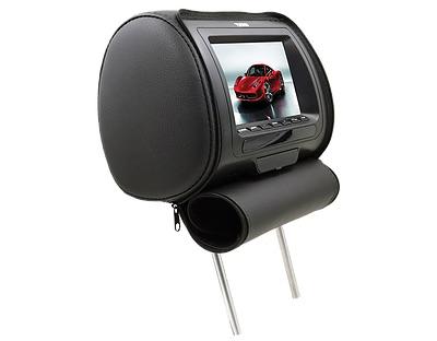 """DS18 HPKG-7B In Car Entertainment 7"""" AV Monitor 12V Headrest Black Single Thumbnail 2"""