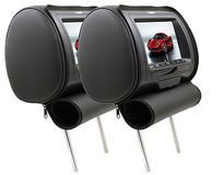 """DS18 HPKG-7B Car Audio 7"""" AV Black Headrest LCD Screen"""