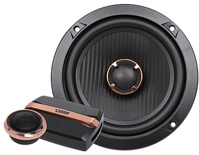 "DS18 BD-G6.5C Black Diamond 380 Watts 6.5"" Inch Component Speakers Pair Thumbnail 4"