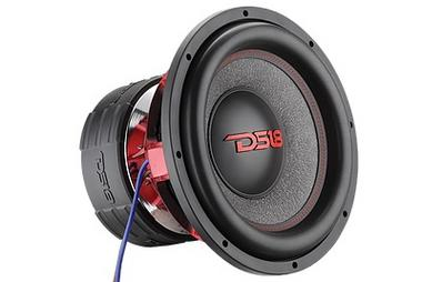 "DS18 HOOL12.4D Hooligan 12"" SPL Competition 6,000 Watt Dual 2 Ohm Subwoofer Single Thumbnail 1"