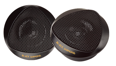 DS18 BD-BT1 Black Diamond Series High Quality Car Audio 100 Watts Dome Tweeters Thumbnail 1