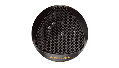 DS18 BD-BT1 Black Diamond Series High Quality Car Audio 100 Watts Dome Tweeters Thumbnail 2